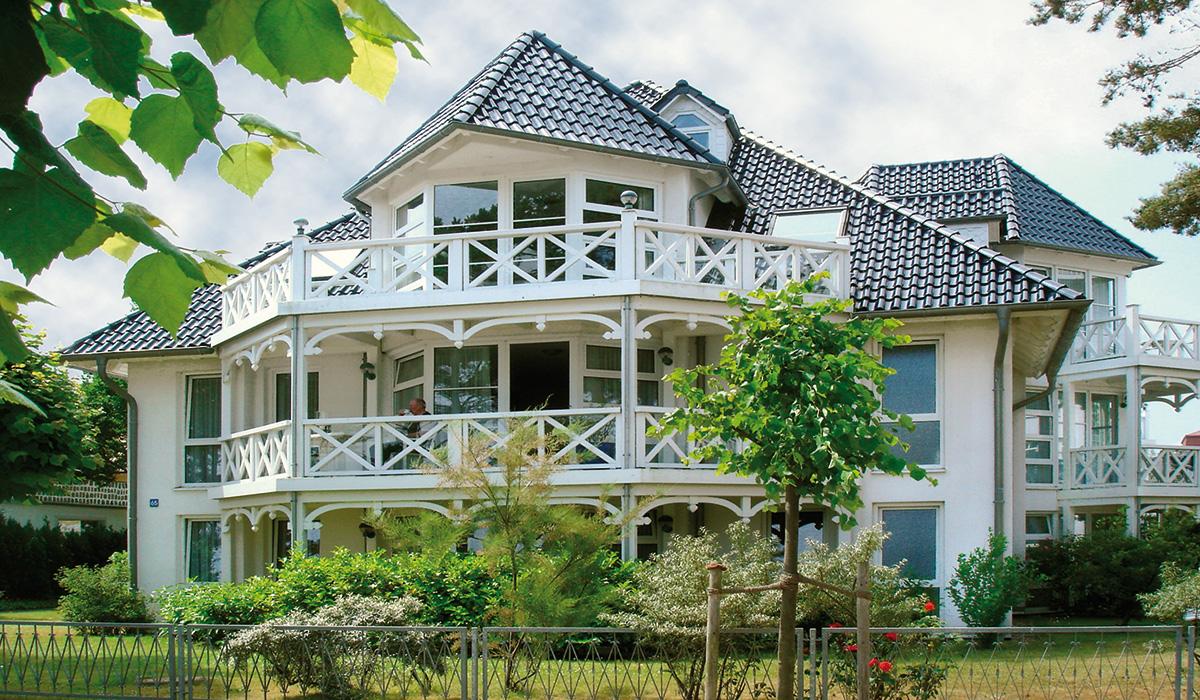 Haus Strelasund in Binz Das Haus Ferienwohnung Binz