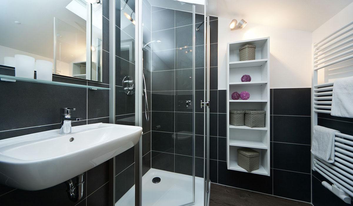 residenz margarete in binz - ferienwohnungen - ferienwohnung binz, Badezimmer ideen