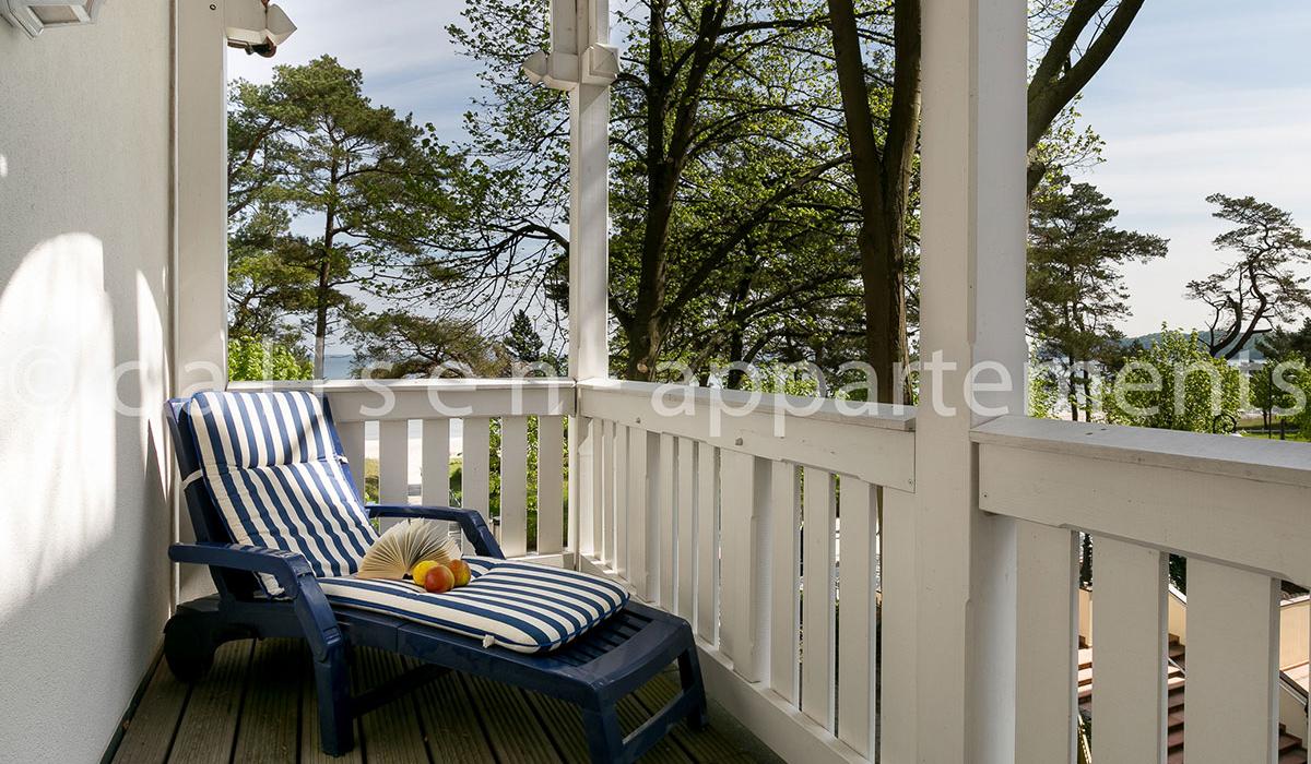 Balkon Klein Appartement : Ferienwohnung appartement wilhem zwei raum app mit balkon in