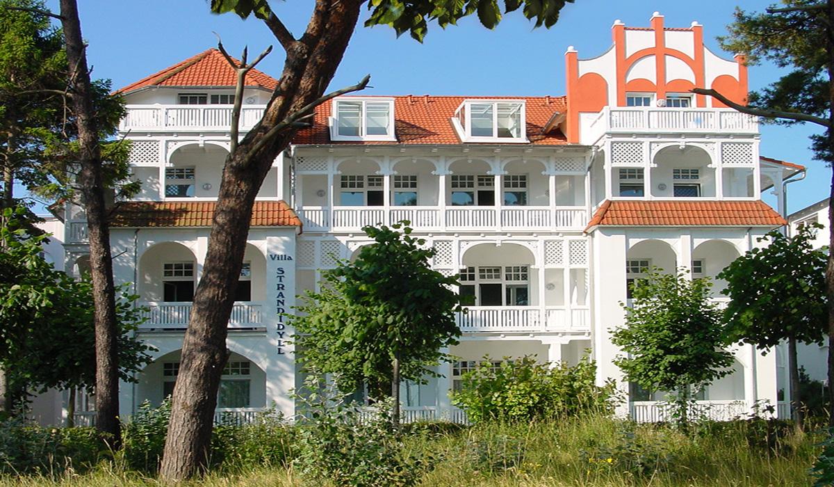 villa strandidyll in binz das haus ferienwohnung binz. Black Bedroom Furniture Sets. Home Design Ideas